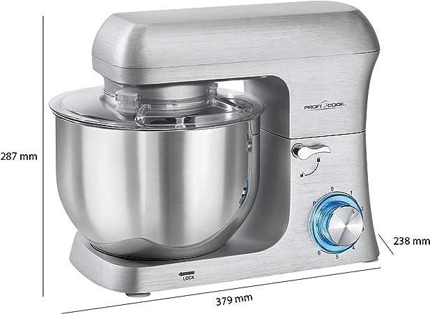 Proficook PC-KM 1188 501188 Batidora de Varillas Aluminio 1500 W: Amazon.es: Hogar