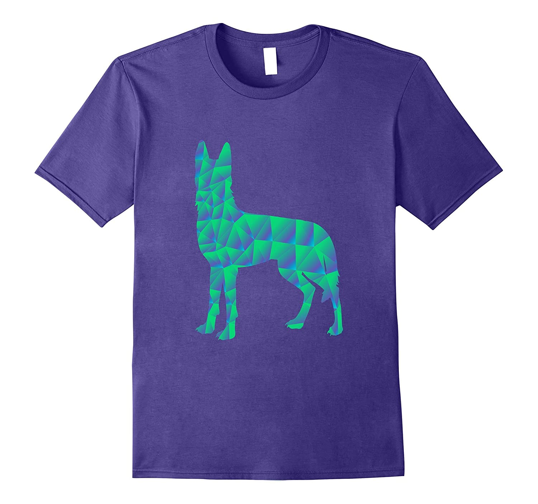 German Shepherd Dog Tshirt Colorful Art Design For Dog Love-ANZ