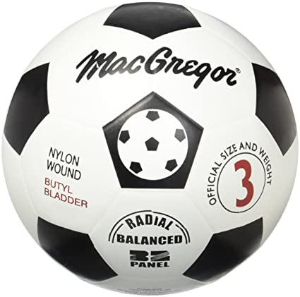 Amazon.com   Macgregor Rubber Soccer Ball (Size 3)   Sports   Outdoors 89f2bcb78