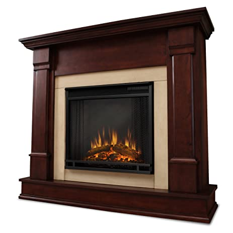 Real Flame Silverton G8600 X DM Electric Fireplace In Dark Mahogany    MANTEL ONLY