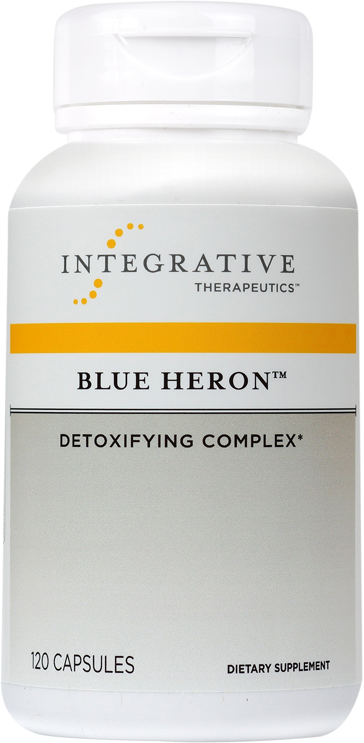 Integrative Therapeutics - Blue Heron - Detoxifying Complex with Dietary Fiber, Herbs, and Probiotics - 120 Capsules