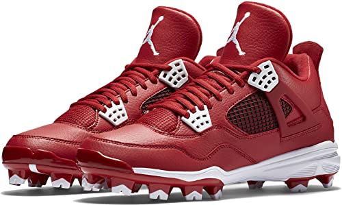 98ee15a7267 Image Unavailable. Image not available for. Colour  Jordan IV RETRO MCS  mens baseball-shoes 807709-601 13.5 - Gym Red