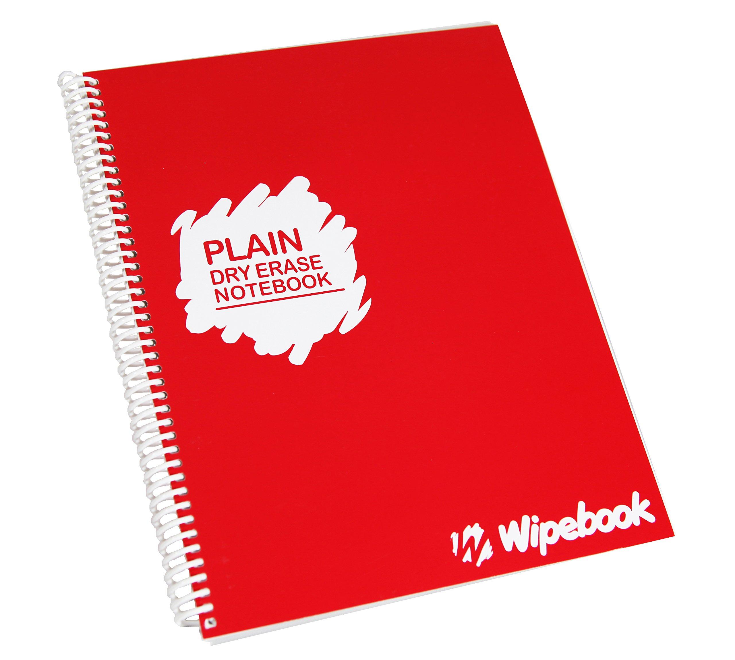 Wipebook Reusable Dry Erase Plain by Wipebook
