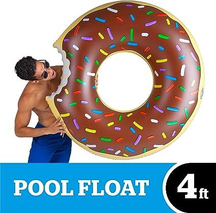 Amazon.com: Rosquilla inflable gigante para piscina de ...