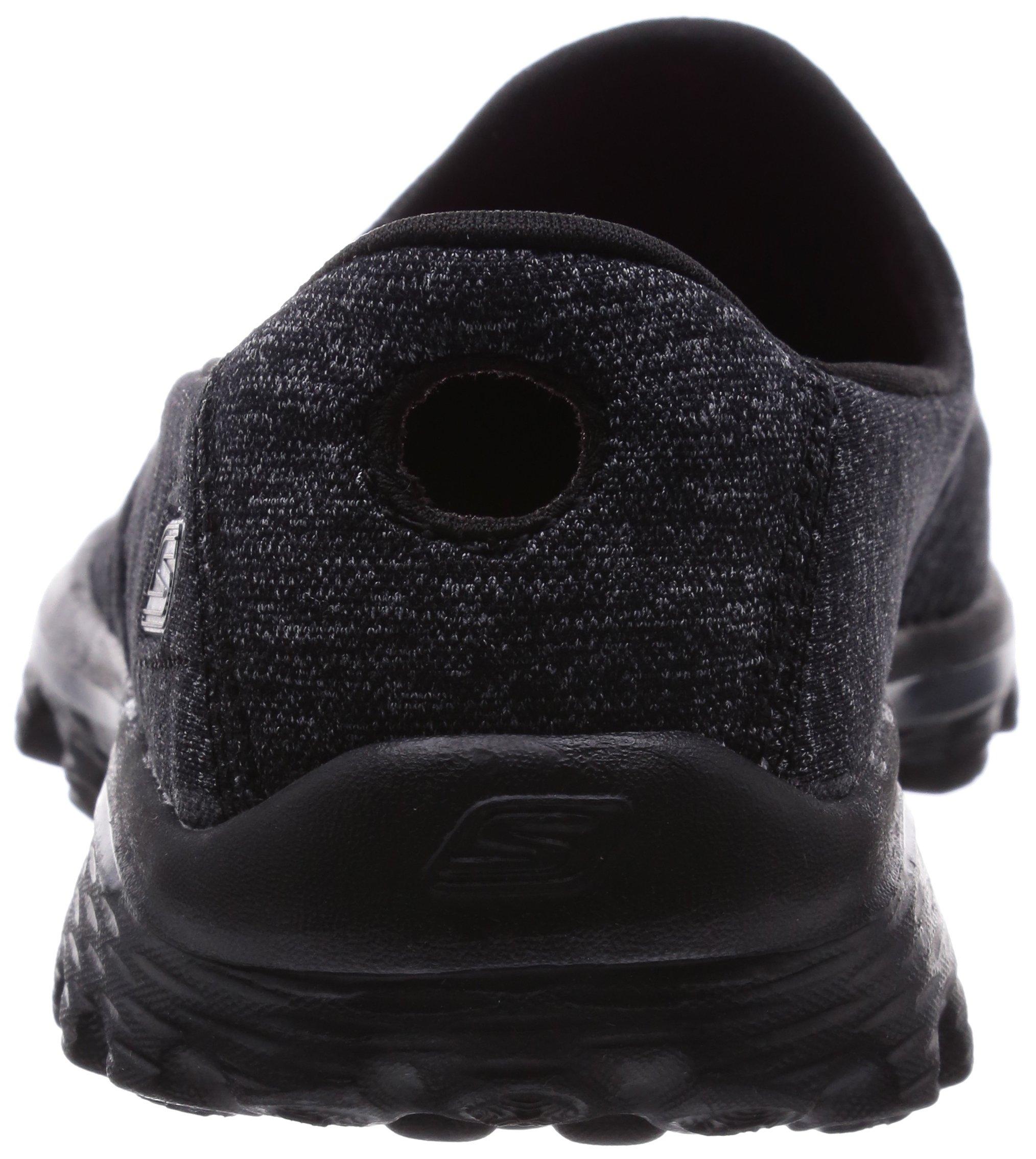 Skechers Performance Women's Go Walk 2 Super Sock Slip-On Walking Shoe,Old Black,7.5 M US by Skechers (Image #2)