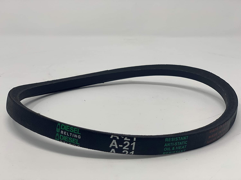 "A21 V-Belt JASON A21 4L230 UniMatch Multi-Plus 1//2/"" Wide x 23/"" Long 2-PACK NEW"