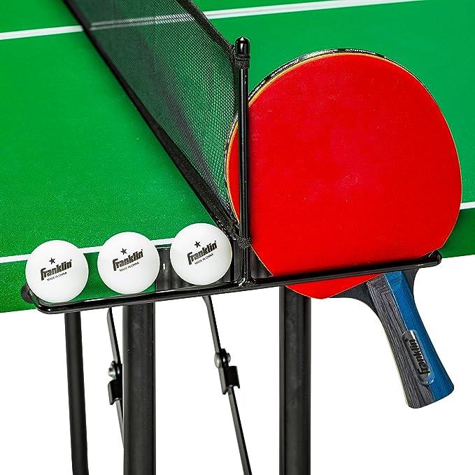 Amazon.com: Franklin Sports Mesa de tenis de tamaño mediano ...