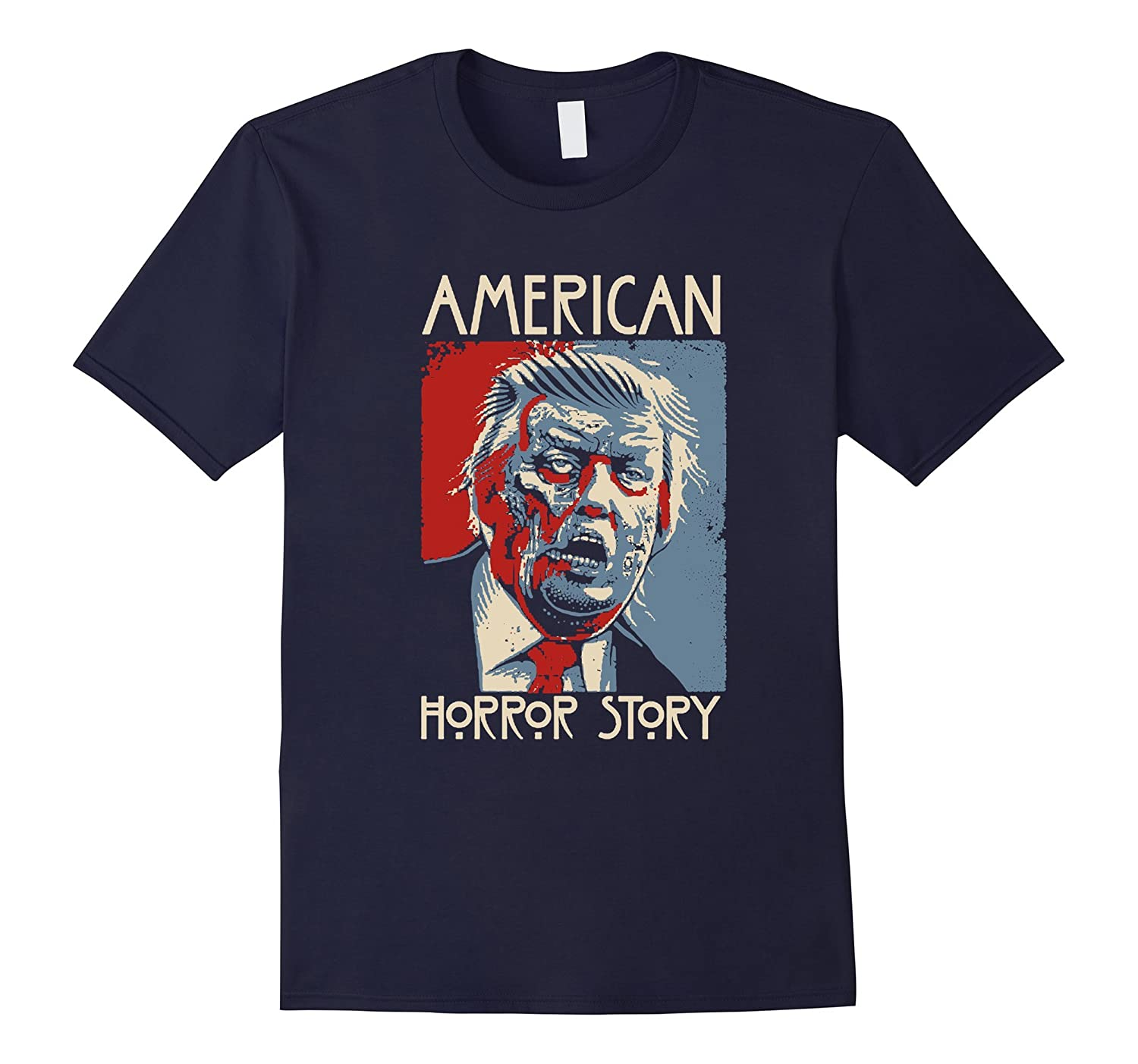 American for Donald Trump horror story T-Shirt-BN