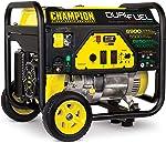 Champion Power Equipment 100231 6900/5500-Watt Dual Fuel Portable Generator with Wheel