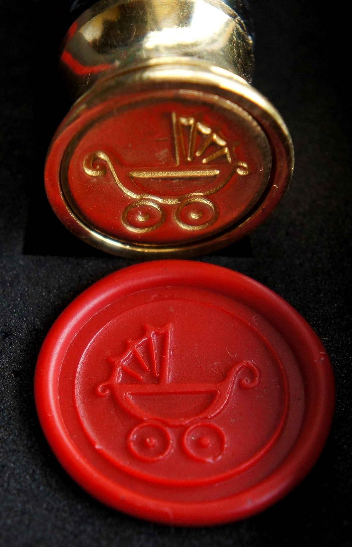 1 Stange Siegelwachs Motivauswahl im Artikel Siegel Set Rimini incl Siegelstempel Symbol Celtic Triskele