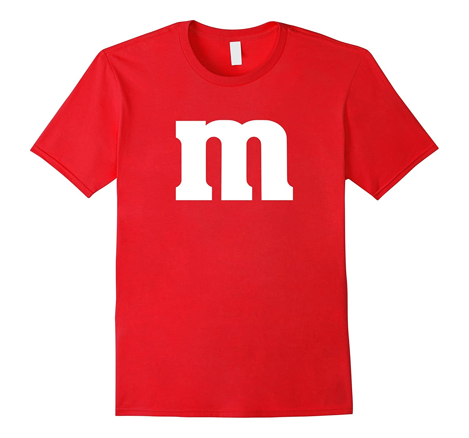 Letter M Group Costume Font Typography T-Shirt-T-Shirt