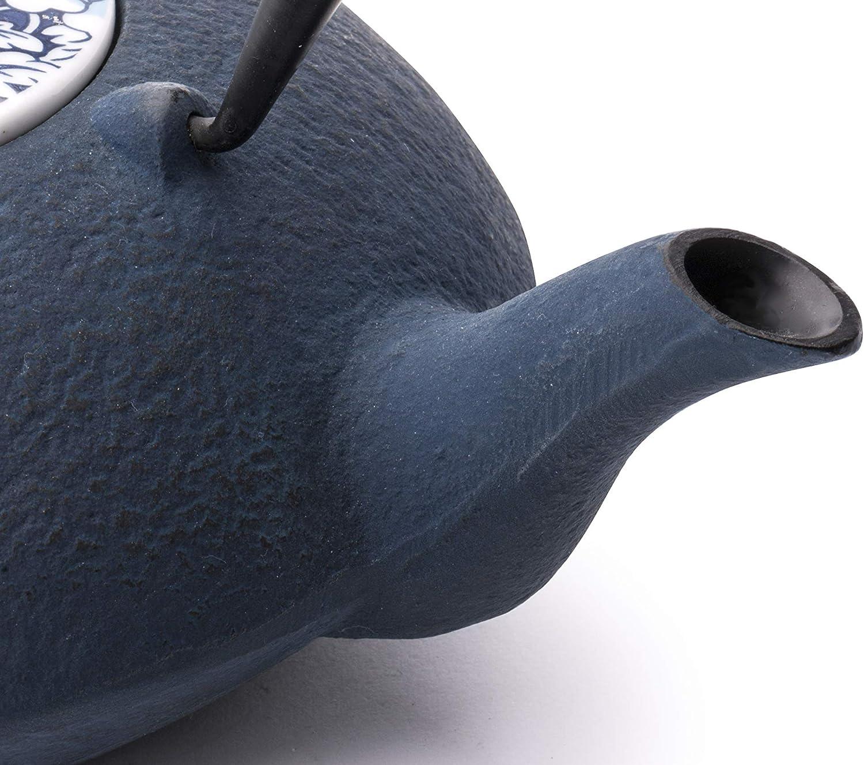 Inoxidable 187x234x179mm Blau Bredemeijer Teekanne Yantai INBG021BP