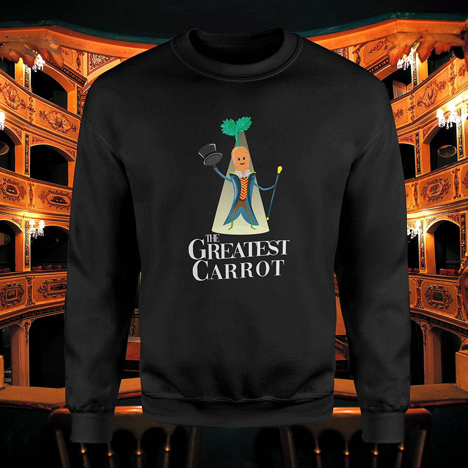 SMARTYPANTS The Greatest Carrot Jumper Unisex Kevin Family Gifts Friends