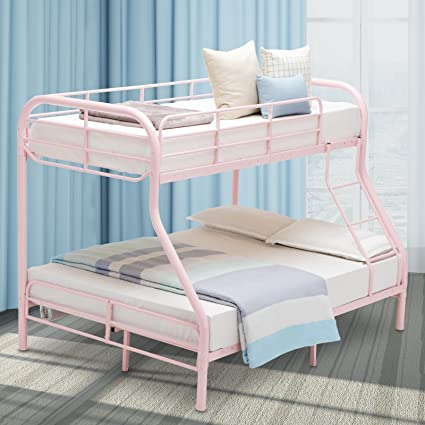 Amazon.com: LAGRIMA Twin Over Full Metal Sturdy Bunk Bed Frame