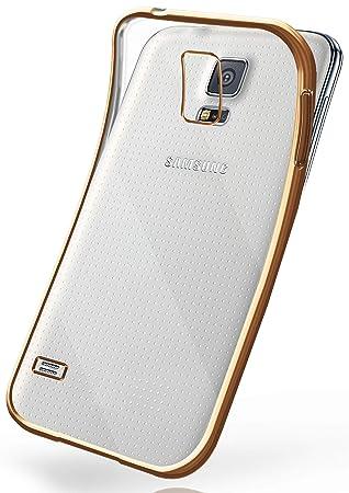 34b52308951 moex La Caja del Cromo para Samsung Galaxy S5 / S5 Neo | Funda de Silicona