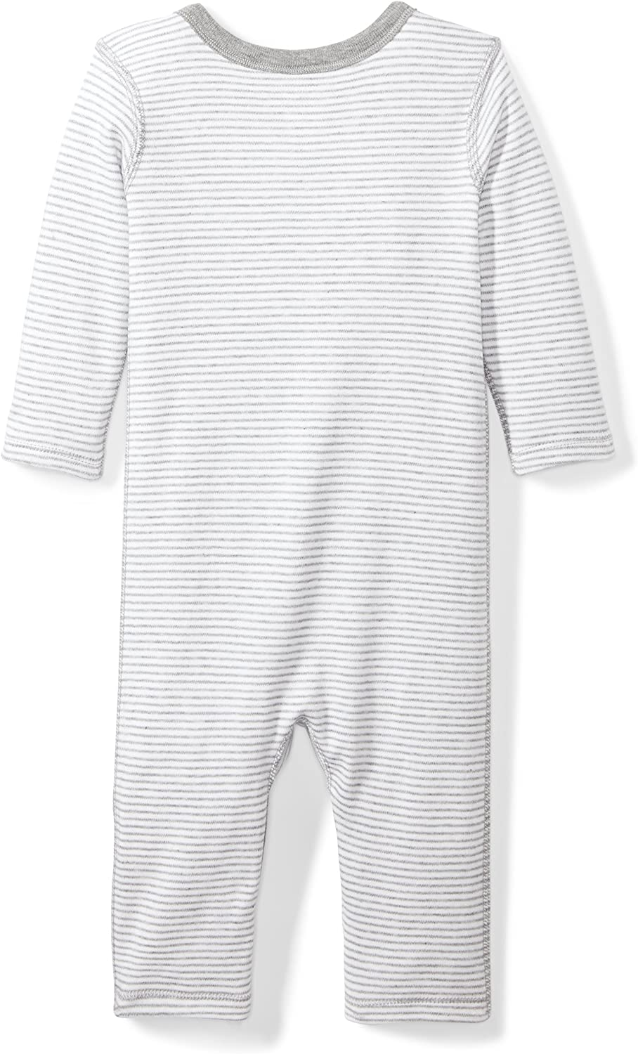 Moon and Back Baby Organic Long-Sleeve One-Piece Pocket Coverall with Cap Set BSR15-2PC-SNKP