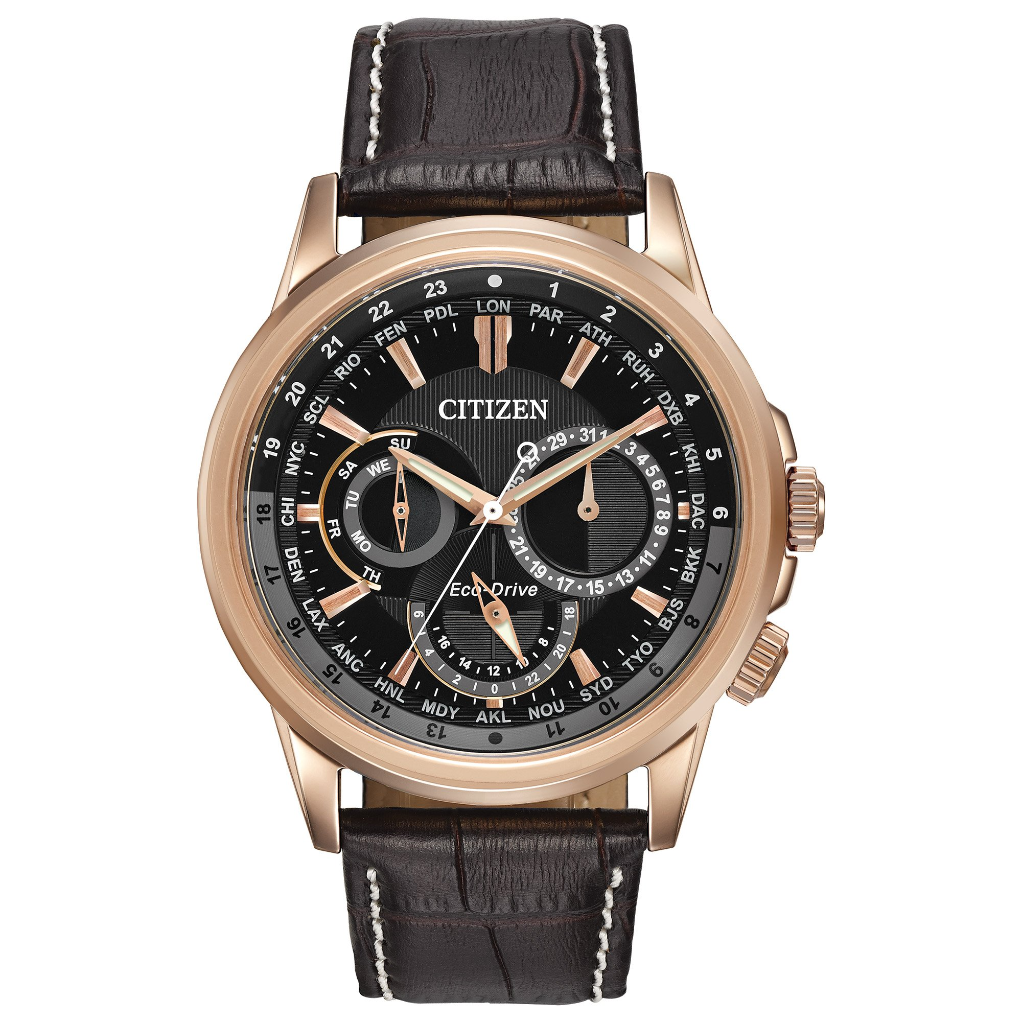 Citizen Men's Eco-Drive Stainless Steel Watch with Day/Date, BU2023-04E by Citizen
