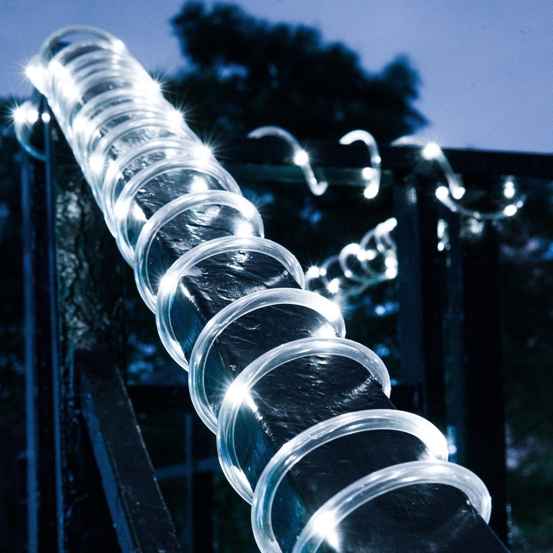 8m DC12V LED Lichtschlauch Außen Lichterkette Geeignet Neonlichting Weiches Seil