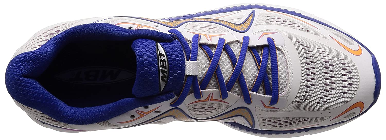 MBT Shoes Women's GT 17 Athletic Shoe Leather/Mesh Lace-up B01N375L1Y 6 Medium (B) US Woman|White/Purple