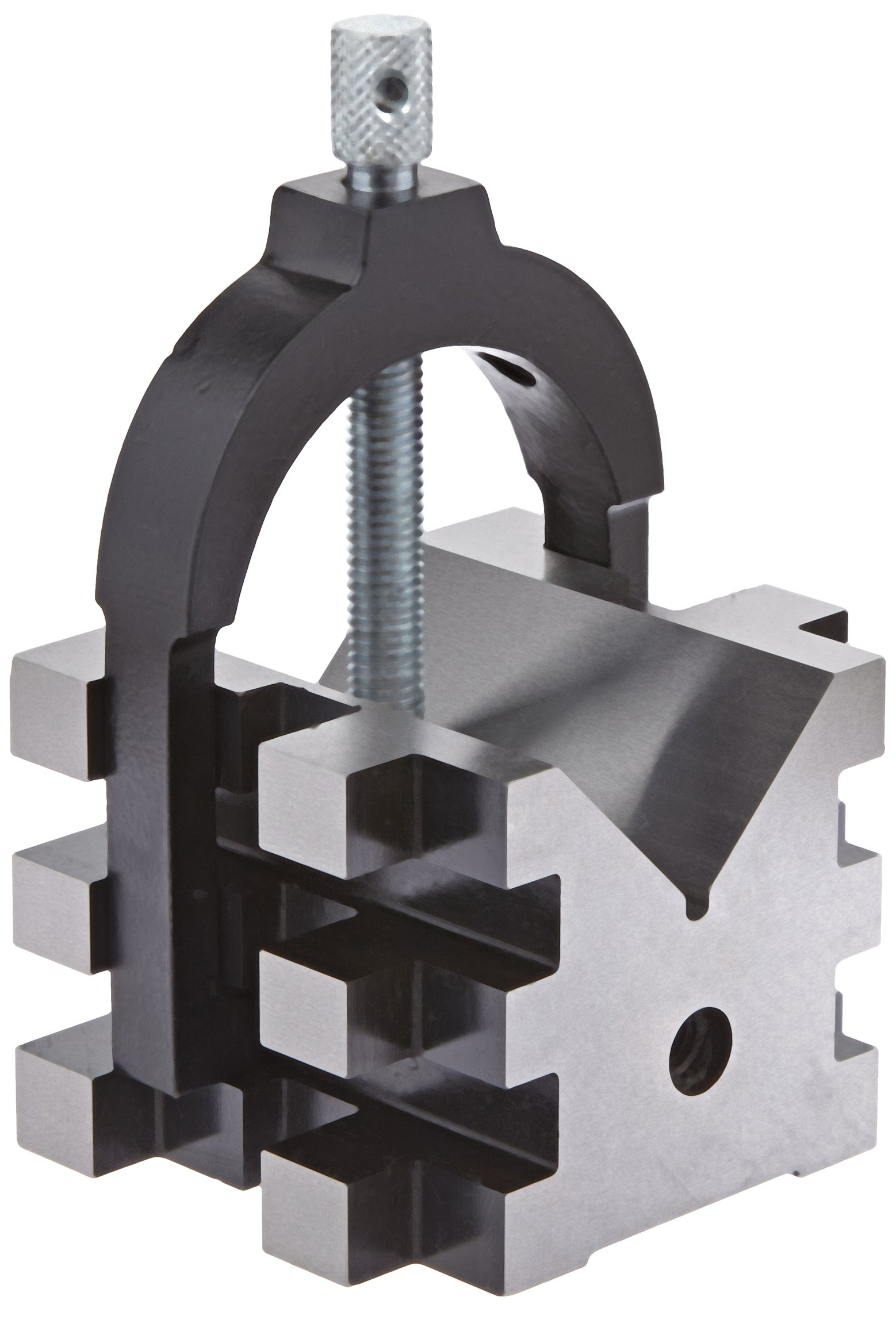 Fowler 52-475-555 Hardened steel V-Block Set, 2'' Clamping Capacity, 2'' H x 2.25'' length x 2'' width