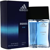 ... Adidas Moves For Men Eau De Toilette Spray 1 Ounce