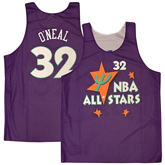 Amazon.com   Shaquille O Neal  32 Orlando Magic 1995 All Star Game Reversible  Mesh Tank Top   Sports   Outdoors c457ef6c9
