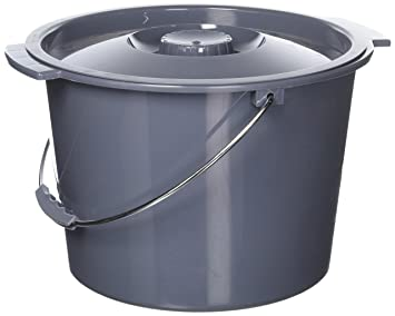 Amazoncom Replacement Commode Bucket With Lid 12 Qt 2 Gallon