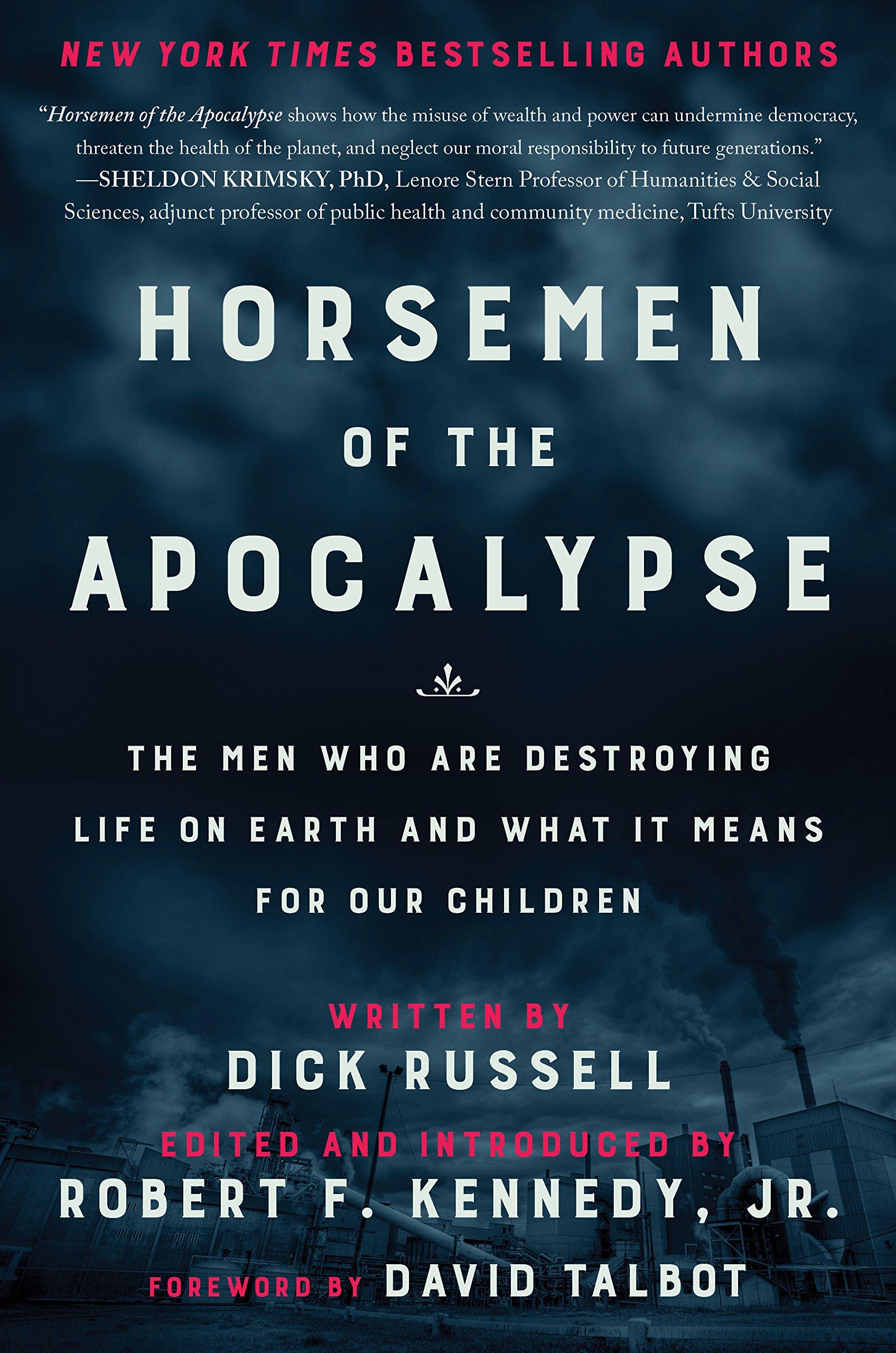 Horsemen Apocalypse Destroying Earth And Children product image