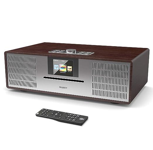 Willingham DAB/DAB+ Digitales FM-Radio - Kabelloses Bluetooth - 30W CD-Player - HiFi-Lautsprechersystem - Fernbedienung - AUX