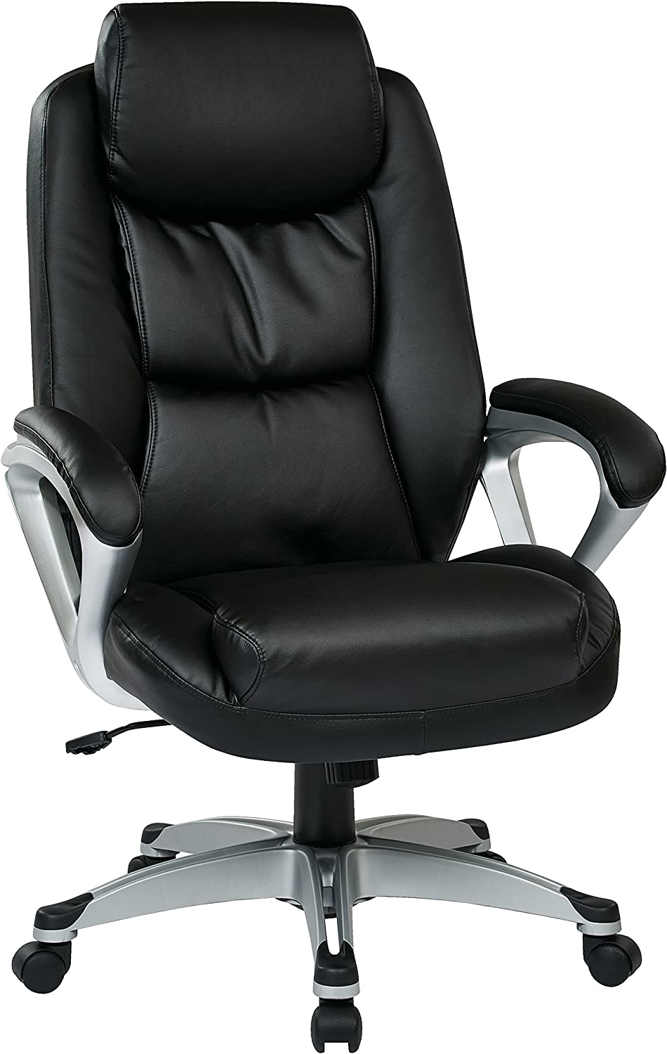 Work Smart Executive Chair, Black