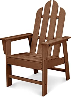 product image for POLYWOOD ECD16TE Long Island Dining Chair, Teak