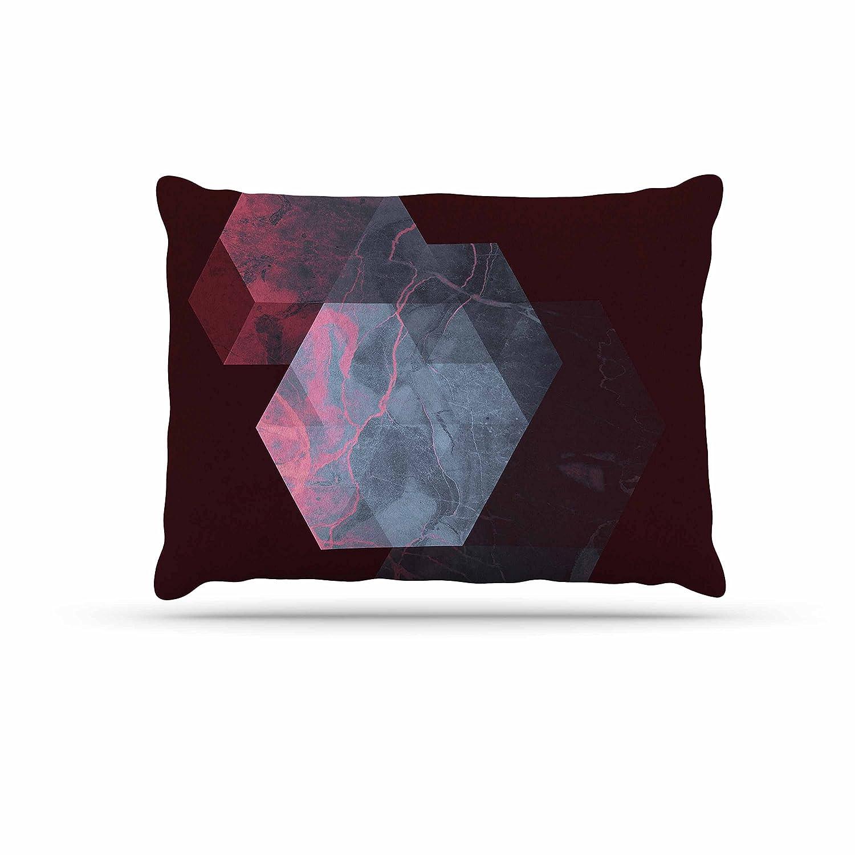 KESS InHouse Cafelab Spring Shadows Purple Pastel Dog Bed, 30  x 40