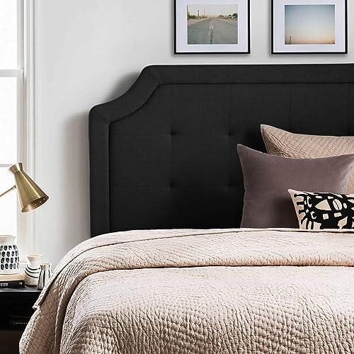 LUCID LUTTSCSTIVHB Bordered Upholstered Headboard