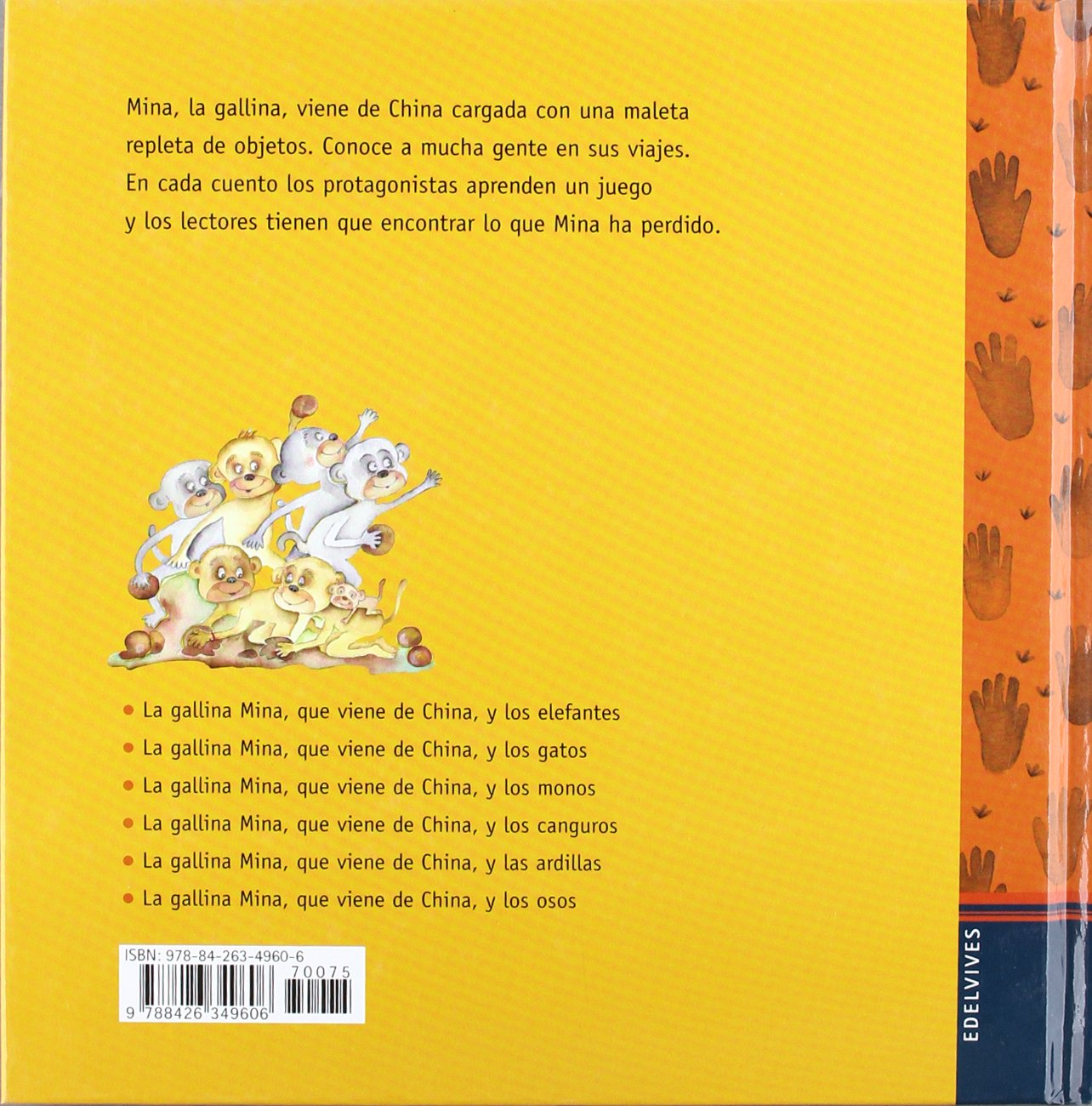 La gallina Mina que viene de China y los monos: Mercè Arànega: 9788426349606: Amazon.com: Books