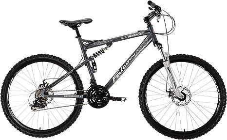 Falcon Defender - Bicicleta de montaña para Hombre, Talla L (173-182 cm), Color Azul: Amazon.es: Deportes y aire libre