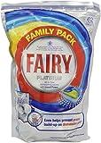 Fairy Platinum Lemon Dishwasher Tablets 62 Washes