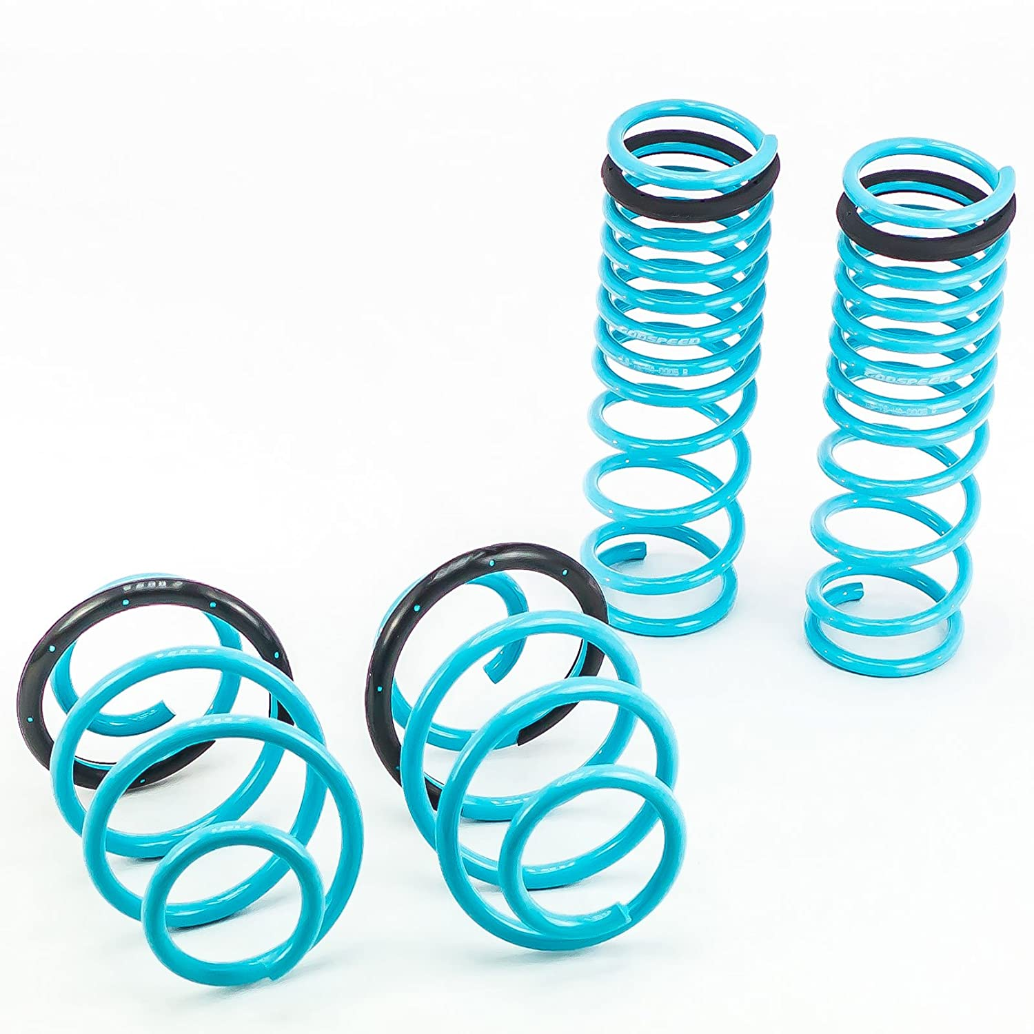 Godspeed(LS-TS-HA-0005) Traction-S Performance Lowering Springs, Reduce Body Roll, Improve Steering Response, Set of 4