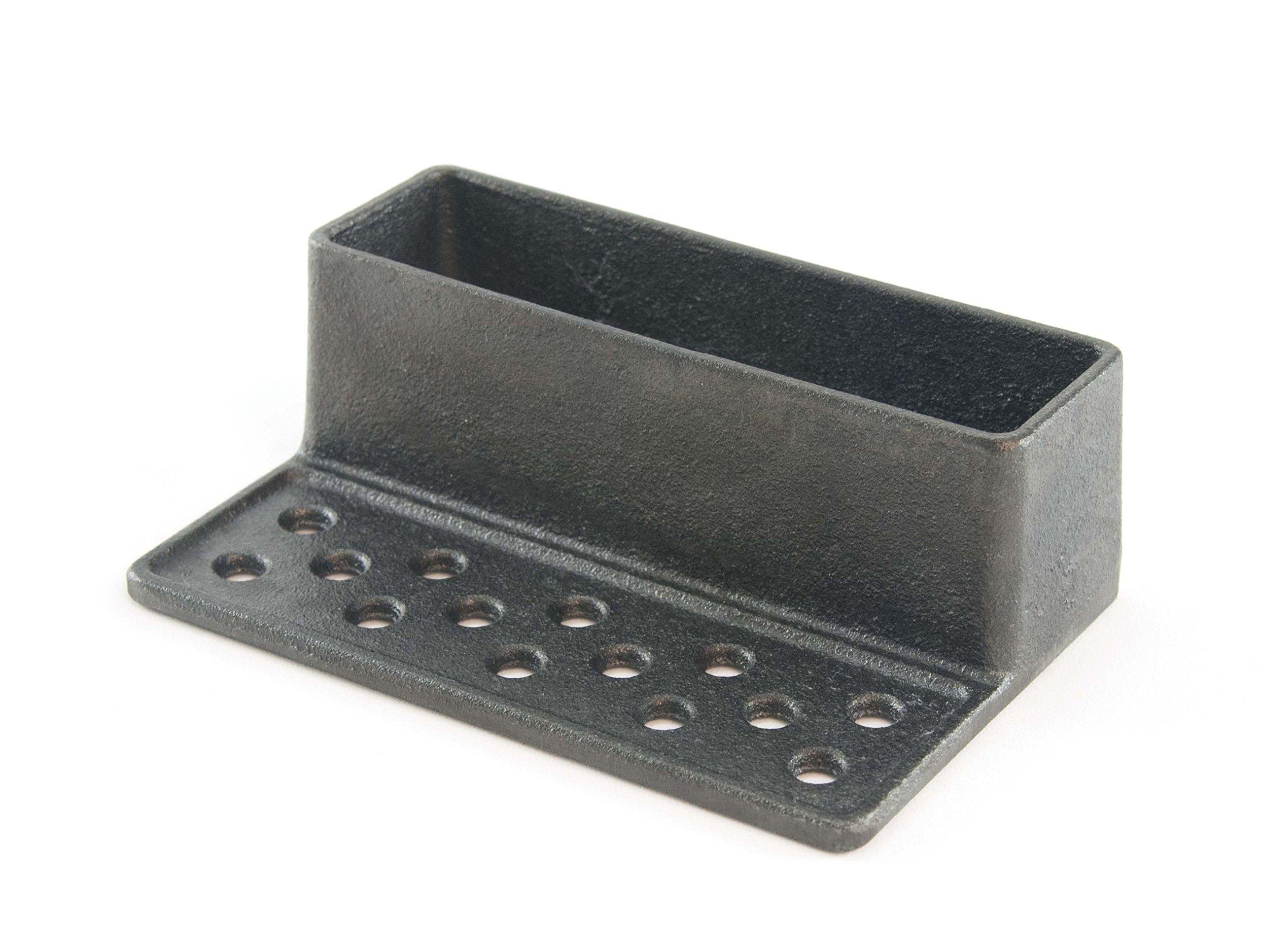 Charcoal Companion CC4107 Cast Iron Smoker/Humidifier