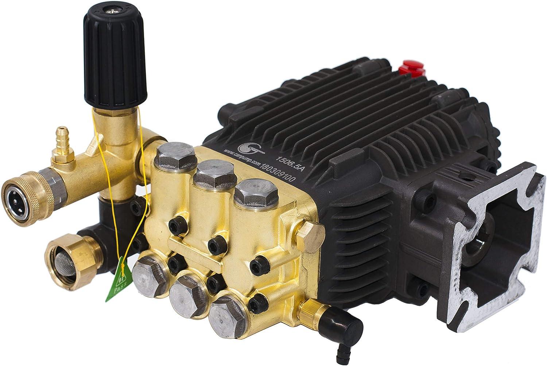 "CANPUMP High Pressure Power Washer Pump 3.1 GPM 3000 psi 6.5 HP 3/4"" Shaft"