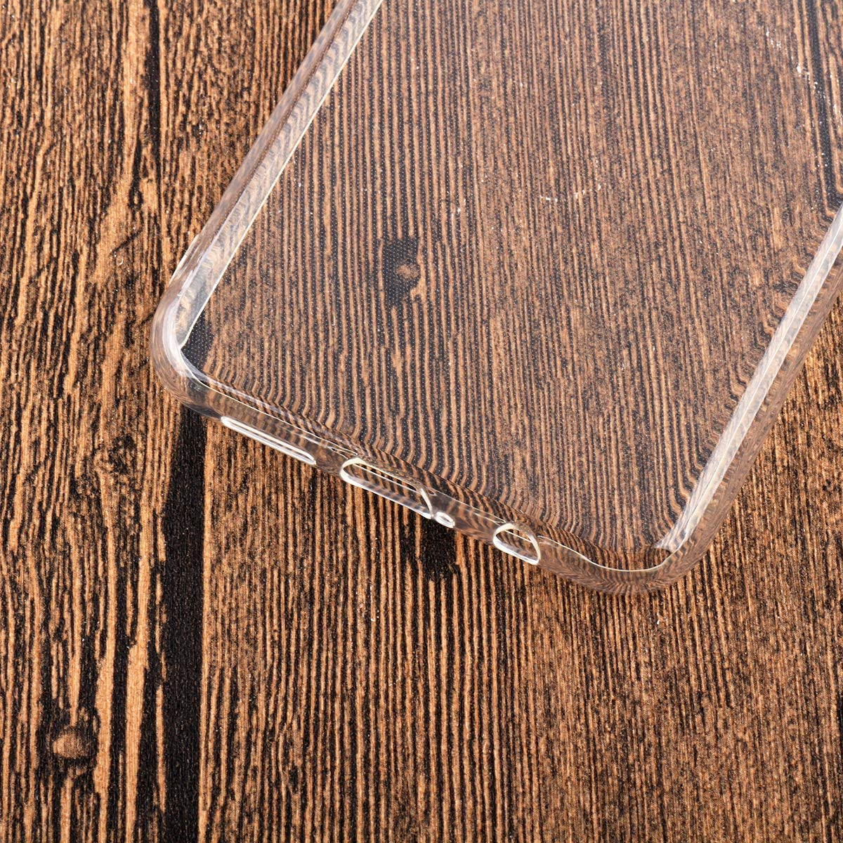 QFSM Transparente Funda 5.71 Cristal Templado para Huawei Y5 2019 9H Dureza Duradera Protectora Pantalla Glass Film Protector-WM22 Shell Silicona Carcasa Suave TPU Case Cover
