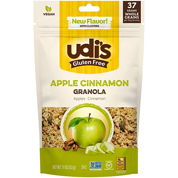 Udi's Gluten Free Apple Cinnamon Granola, 11 oz.