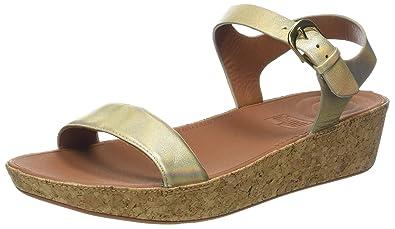 43be171084fb FitFlop Women s Bon II Back-Strap Heeled Sandal