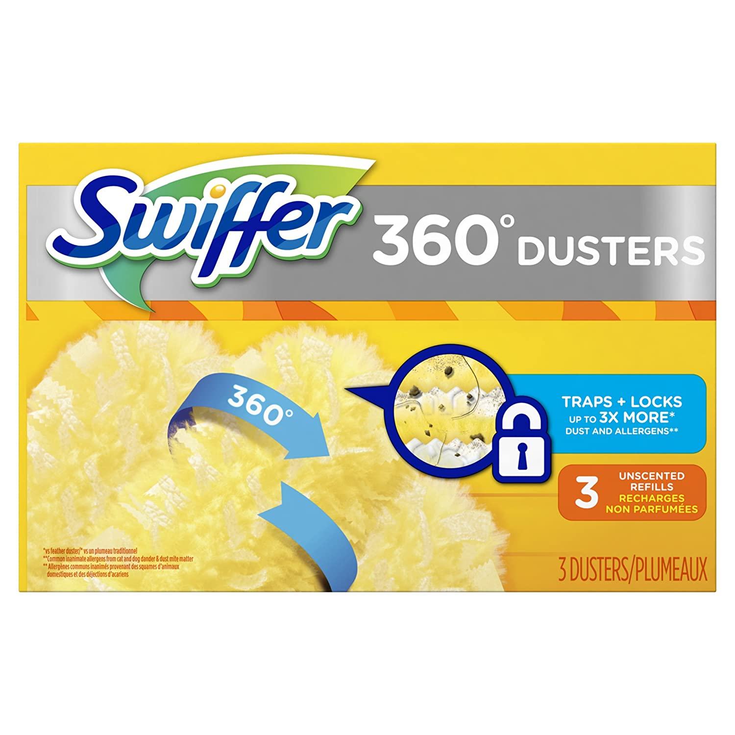 Swiffer Dusters 360 Extendable Handle Starter Kit, 4-Count AX-AY-ABHI-114784