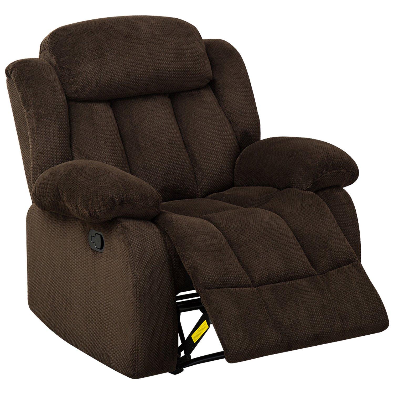 BONZY Oversized Recliner Chair