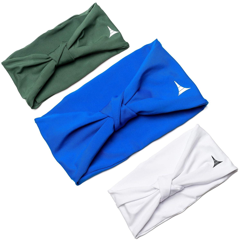 ヨガ女性用ヘッドバンド 3/汗止めバンドスポーツ、ワークアウト用または、Insulates実行と汗を吸収 PACK、ヘッドバンドガールズからFrench Fitness革命 B07M8WGR8S 3 GREEN PACK - BLUE GREEN WHITE 3 PACK - BLUE GREEN WHITE, レンタル着物 岐阜:c3f78ae5 --- number-directory.top