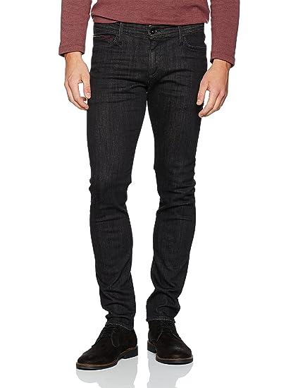 4460a727 Hilfiger Denim Men's Skinny Simon DYFBST Jeans, (Dynamic Faded Black  Stretch), W34/L34 (Size: 3434): Amazon.co.uk: Clothing