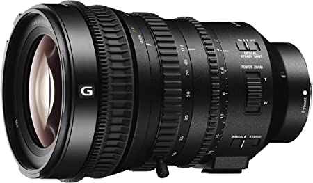 Sony 18 70 Mm Fe Power Zoom 110 G Lens Black Camera Photo