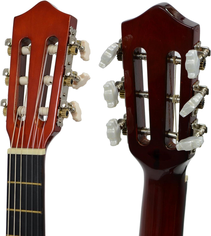 Rocket CG12PACK - Guitarra de concierto (tamaño: 1/2): Amazon.es ...