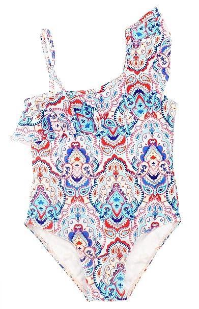 ce4e06cc4 Happy Cherry Baby Girl Swimwear One Piece Bikini Swimsuit Adjustable  Beachsuit for 2-3T