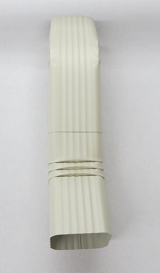 Aluminum Offset Downspout Elbow 2x3 A Almond Amazon Com